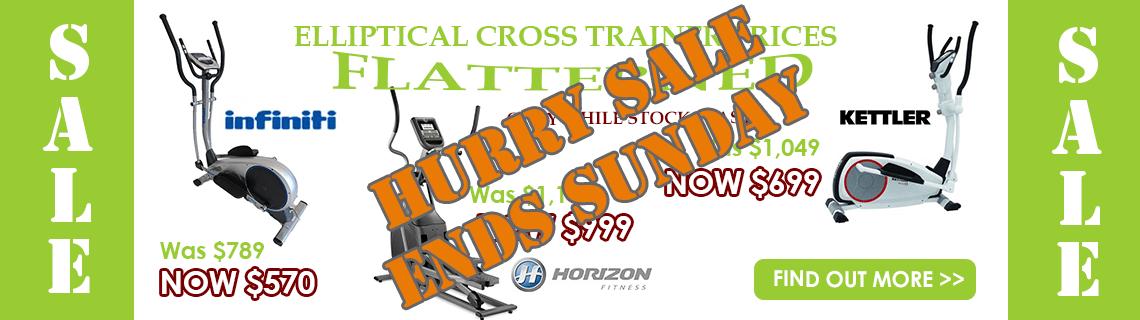 Huge sale on cross trainers