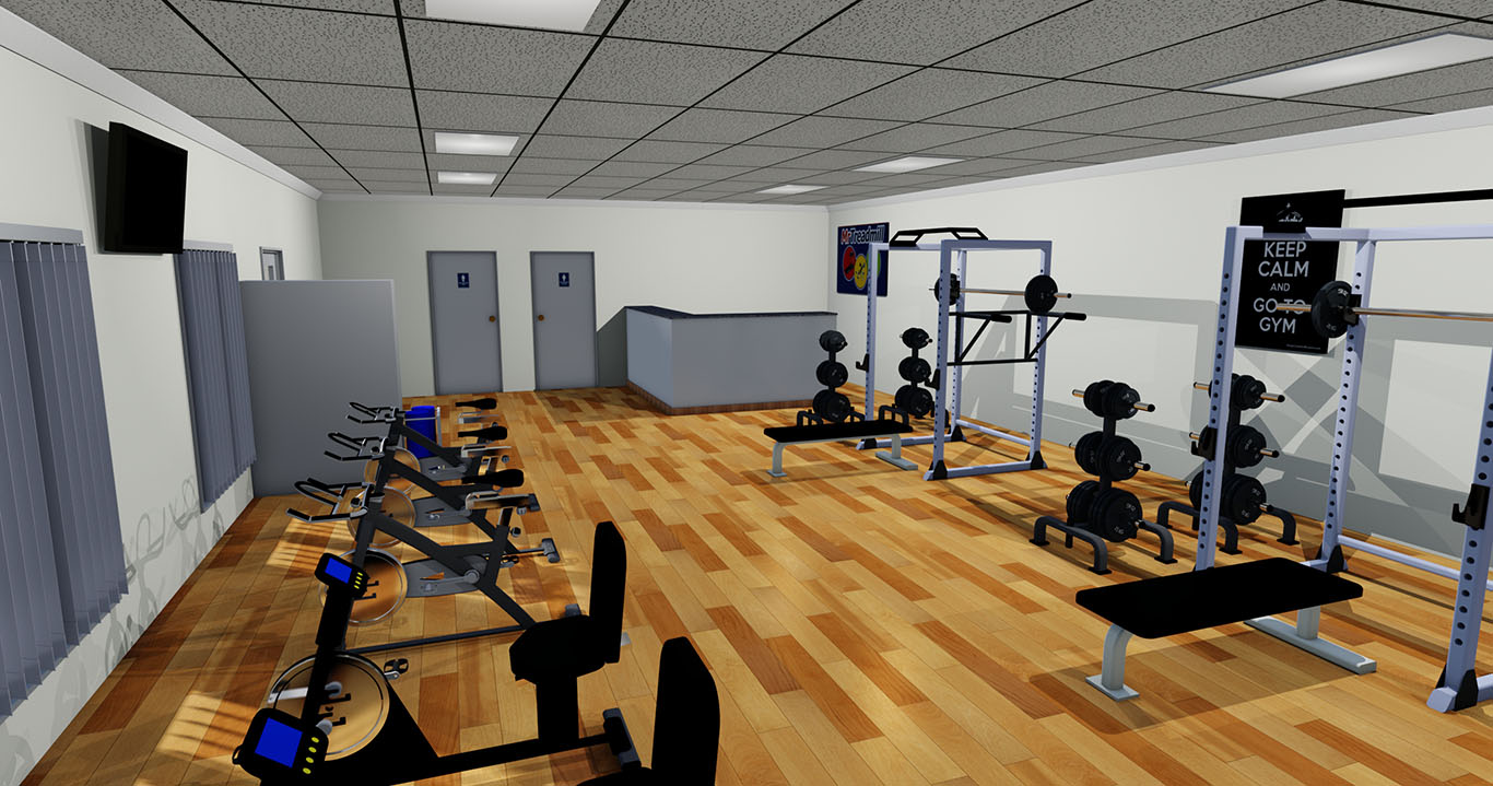 Commercial gym and fitness equipment for Gym designs and layout