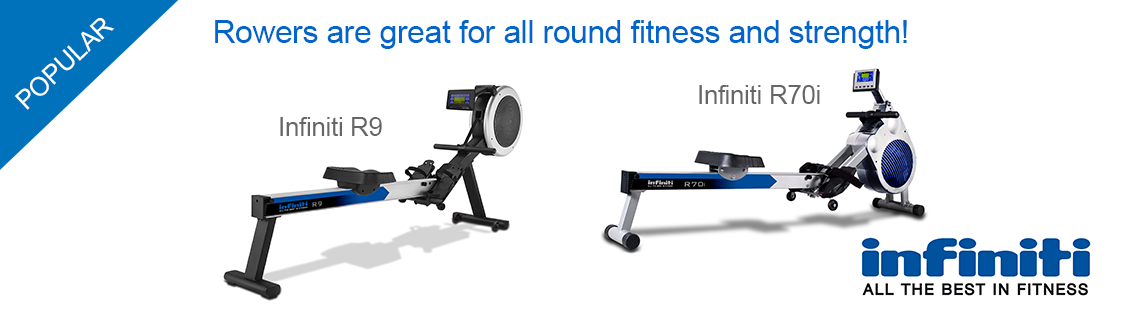 Infiniti rowers for all round fitness