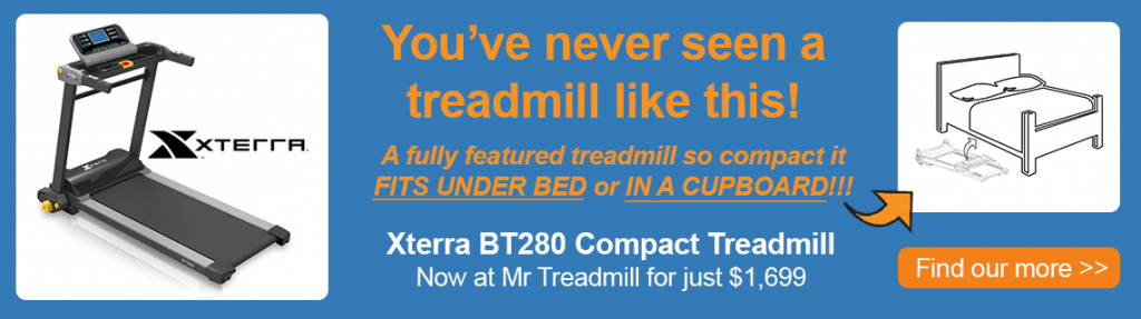 Eterra BT280 Compact Treadmill a folding treadmill like you've never seen before