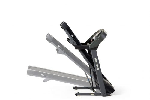 Horizon T202 Treadmill folded