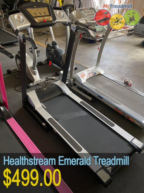 Health stream emerald treadmill