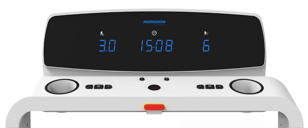 Horizon Omega Z treadmill - console