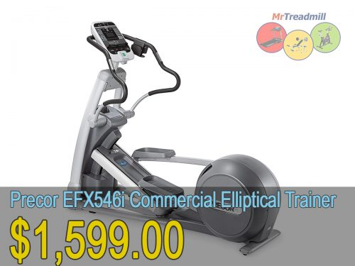 Precor EFX546i Commercial Elliptical Cross Trainer